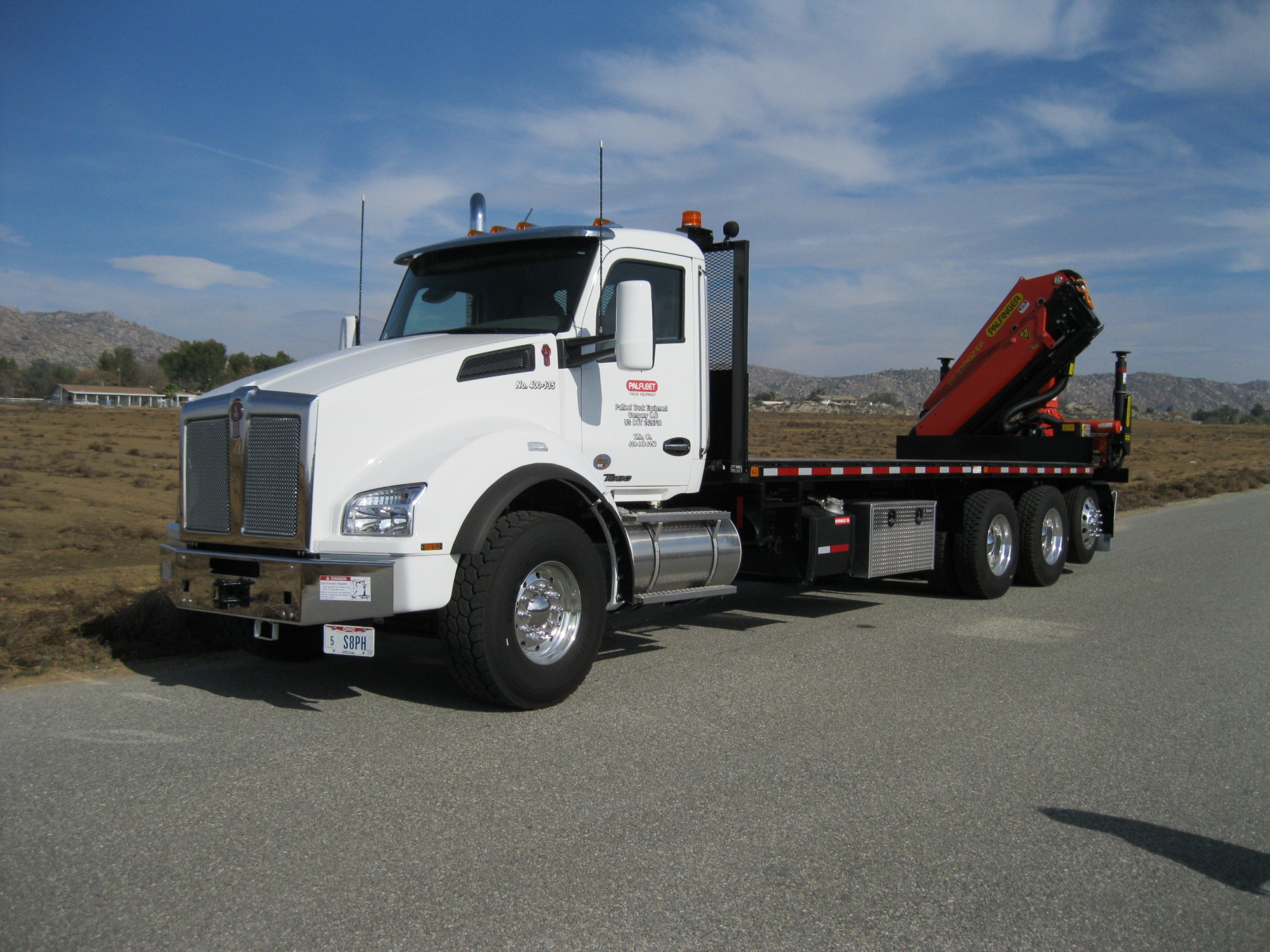 PK 33002 C - 2015 Kenworth T880 - Demo #135