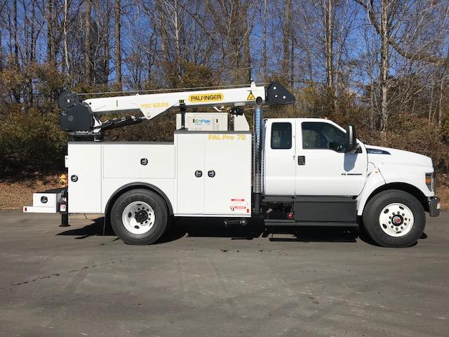2018 Ford F750 Pal Pro 72 Super Cab Mechanics Truck