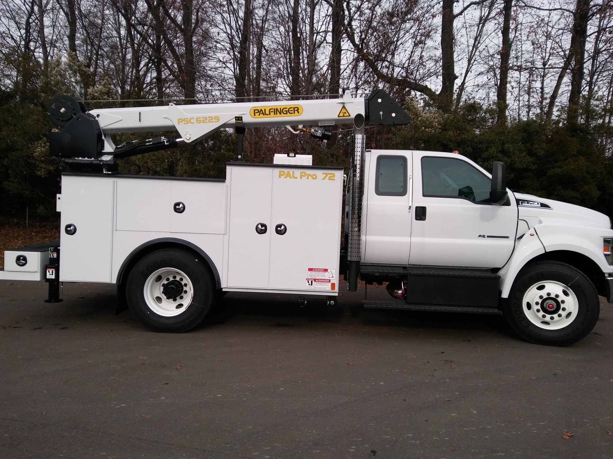 2018 Ford F750 PAL Pro 72 Mechanics Truck -JDF04789